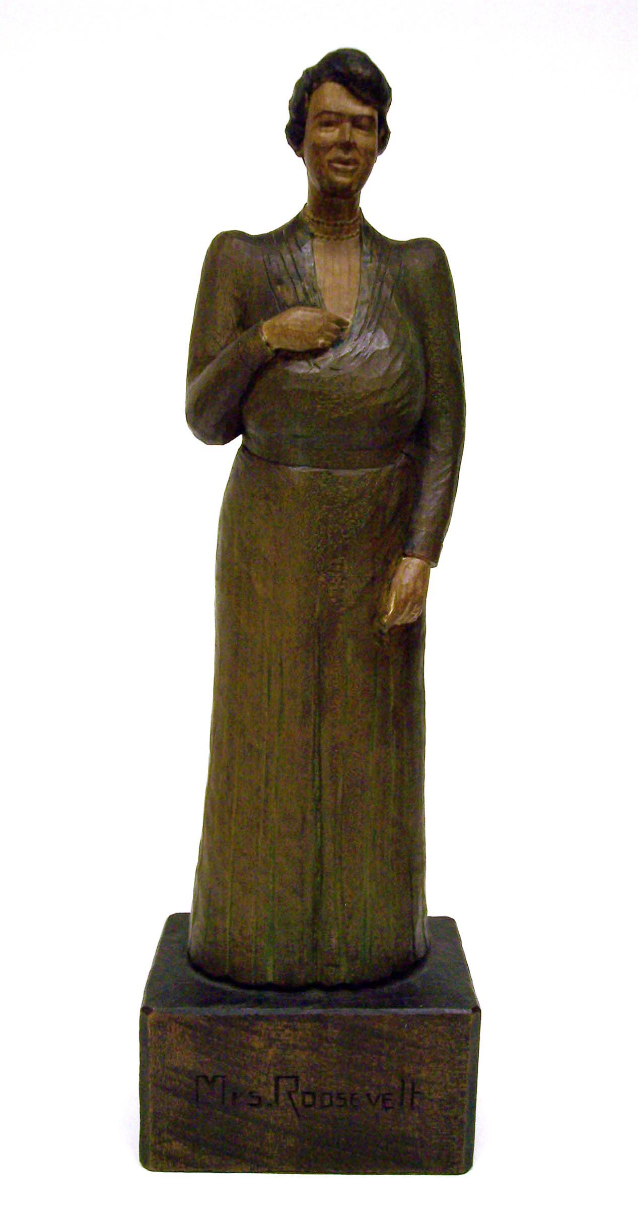 Statuette of Eleanor Roosevelt