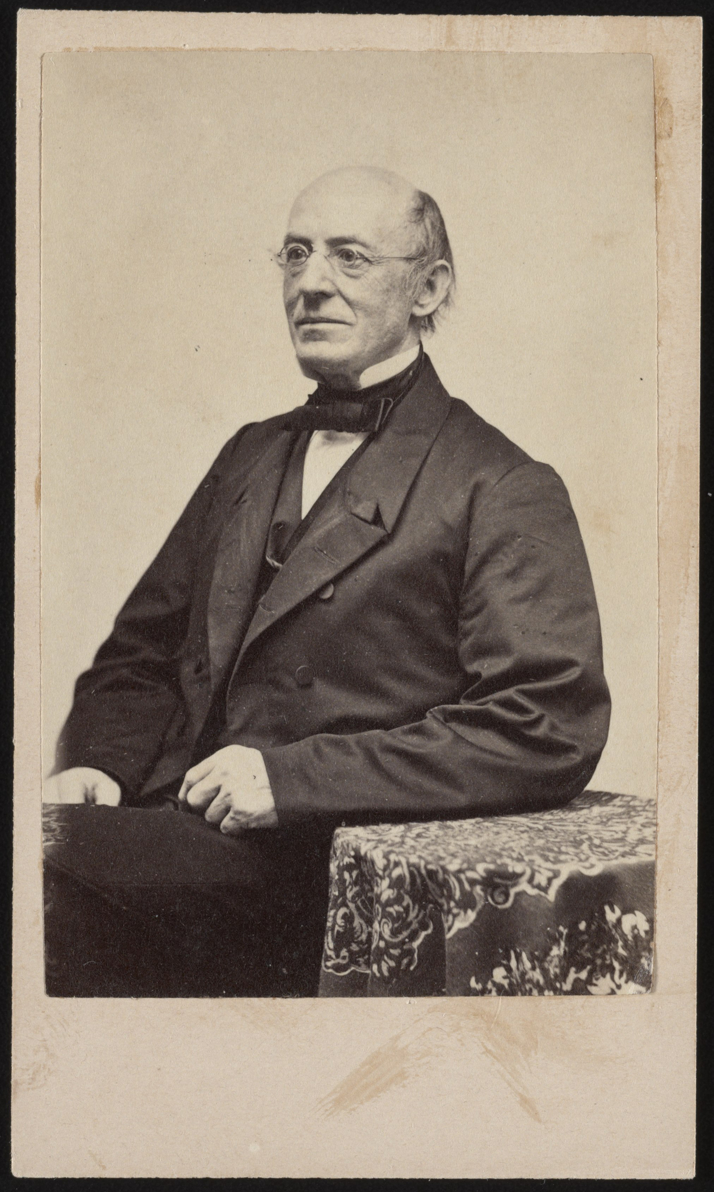 William Lloyd Garrison, abolitionist, journalist, and editor of The Liberator Abstract