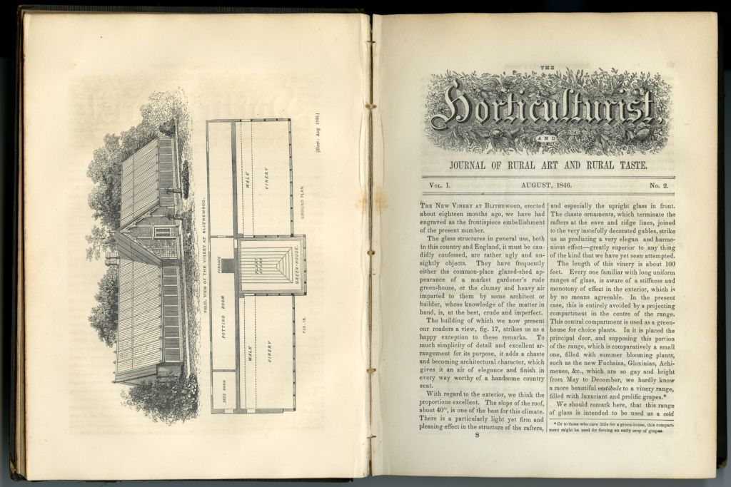 The horticulturist and journal of rural art and rural taste, August 1846, Vol. 1, No. 2, p. 56-57