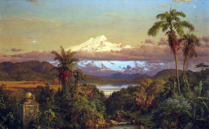 Cayambe, Ecuador by Frederick Edwin Church.jpg