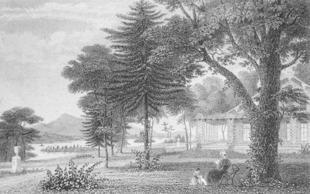 Exterior of Donaldson's Blithewood