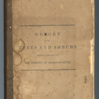 Report on the Trees and Shrubs, Cora Livingston Barton's seed and plant catalogues