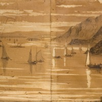 Untitled (Panorama of the Hudson Highlands)