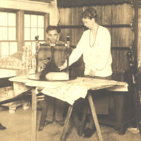 Eleanor Roosevelt at Work